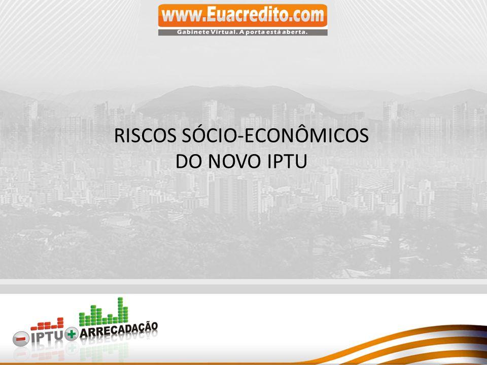 RISCOS SÓCIO-ECONÔMICOS