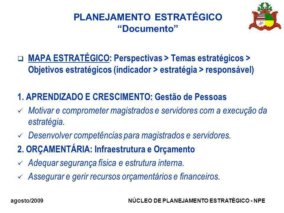 PLANEJAMENTO ESTRATÉGICO Documento