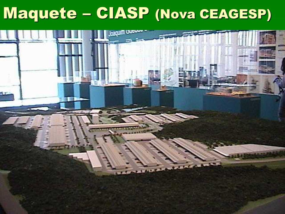 Maquete – CIASP (Nova CEAGESP)