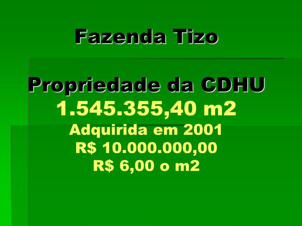 Fazenda Tizo Propriedade da CDHU 1. 545