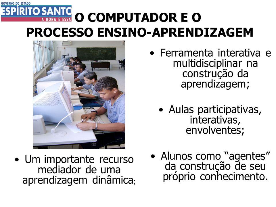 O COMPUTADOR E O PROCESSO ENSINO-APRENDIZAGEM