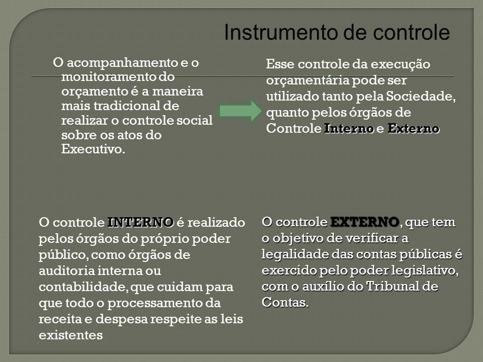 Instrumento de controle