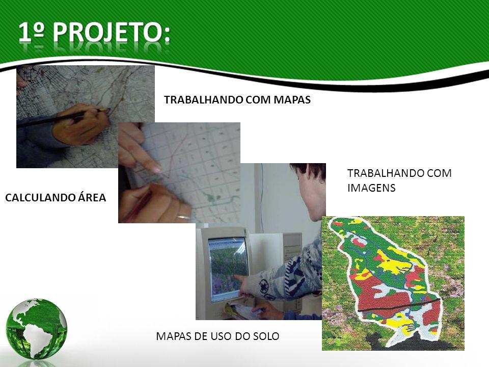 1º PROJETO: TRABALHANDO COM MAPAS TRABALHANDO COM IMAGENS