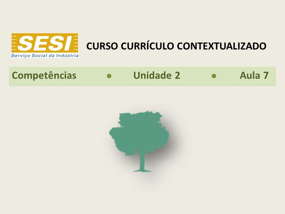 CURSO CURRÍCULO CONTEXTUALIZADO