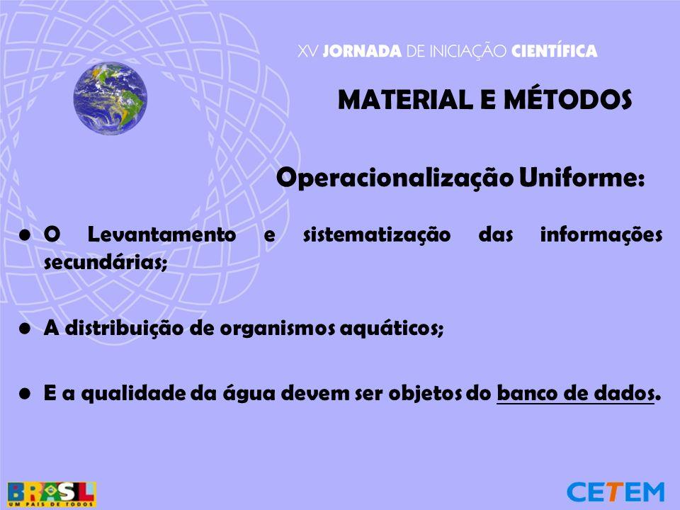 Operacionalização Uniforme: