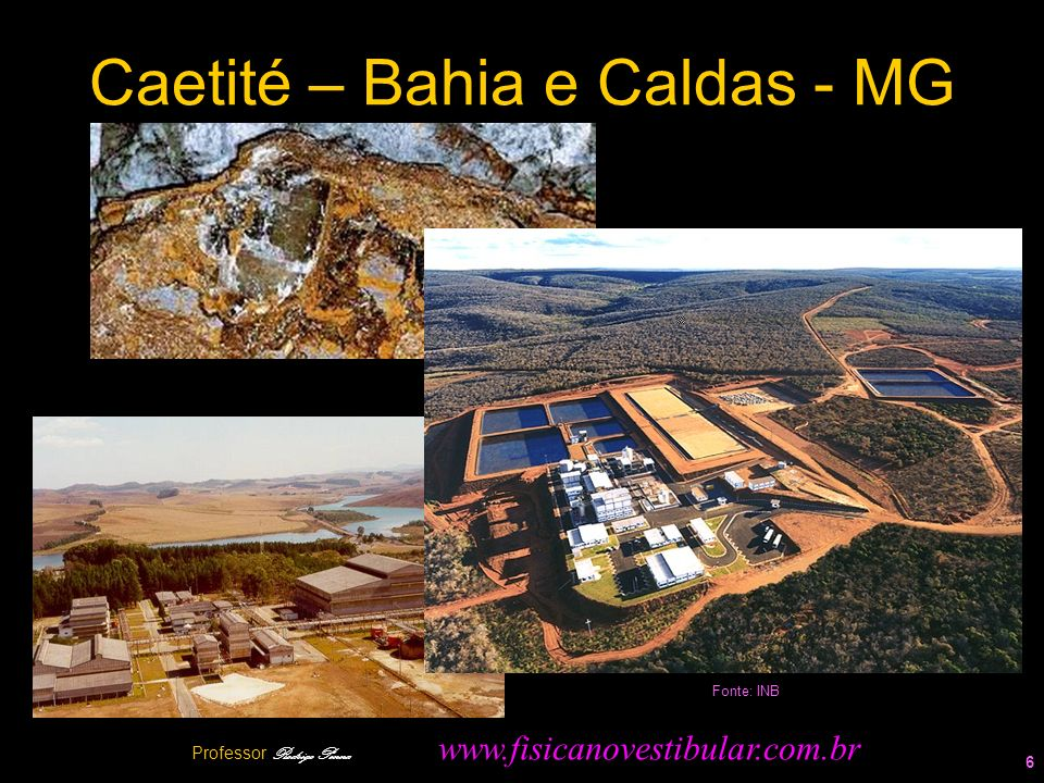 Caetité – Bahia e Caldas - MG