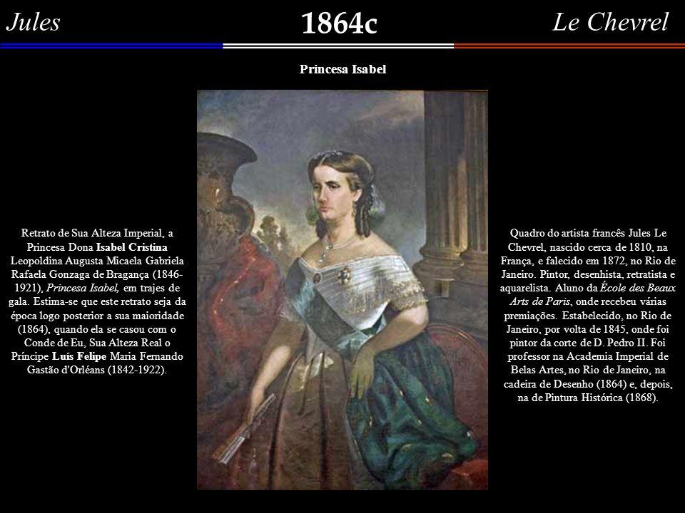 1864c Jules Le Chevrel Princesa Isabel