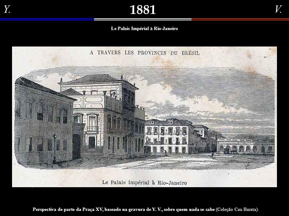 Le Palais Impérial à Rio-Janeiro
