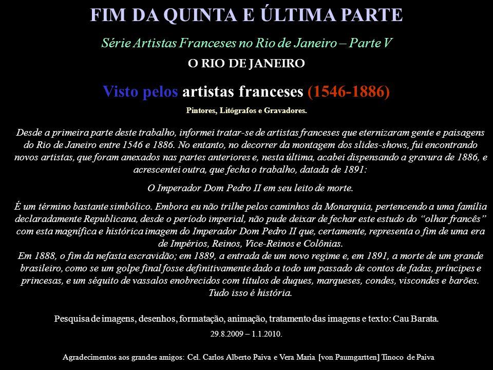 FIM DA QUINTA E ÚLTIMA PARTE