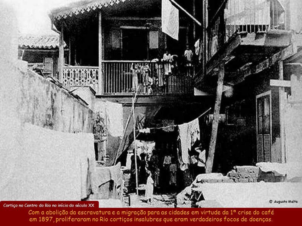 @ Augusto Malta Cortiço no Centro do Rio no início do século XX.