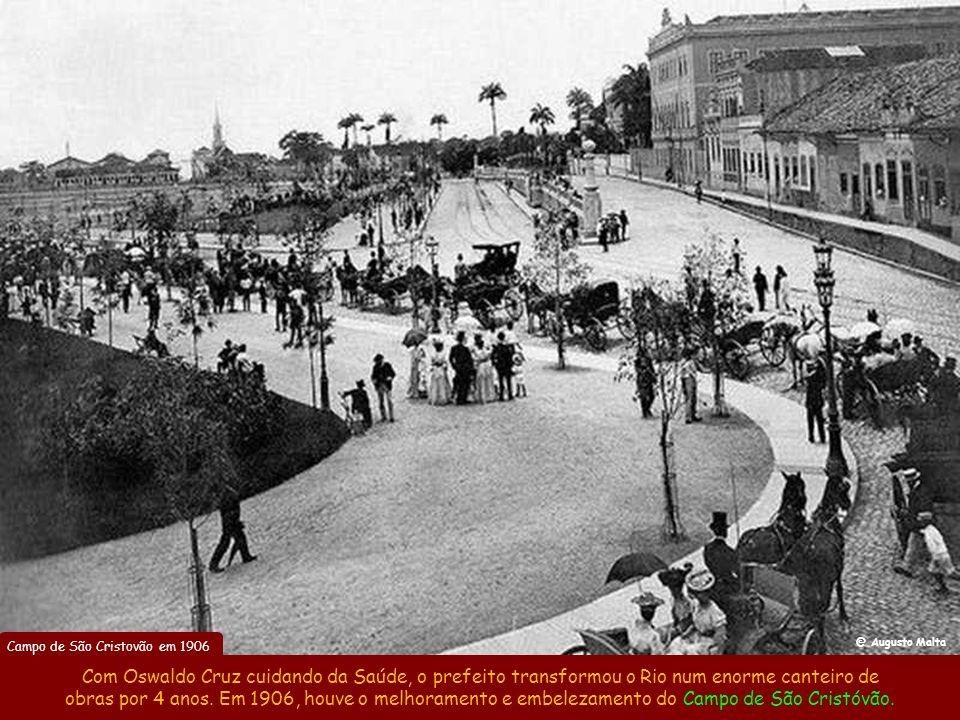 Campo de São Cristovão em 1906