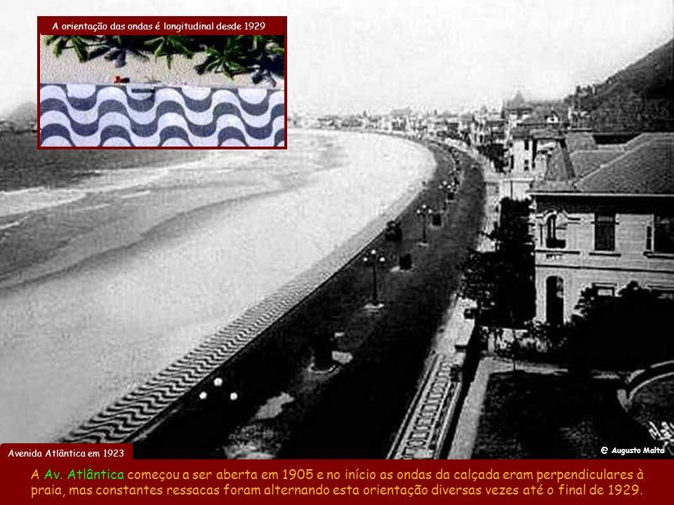 A orientação das ondas é longitudinal desde 1929