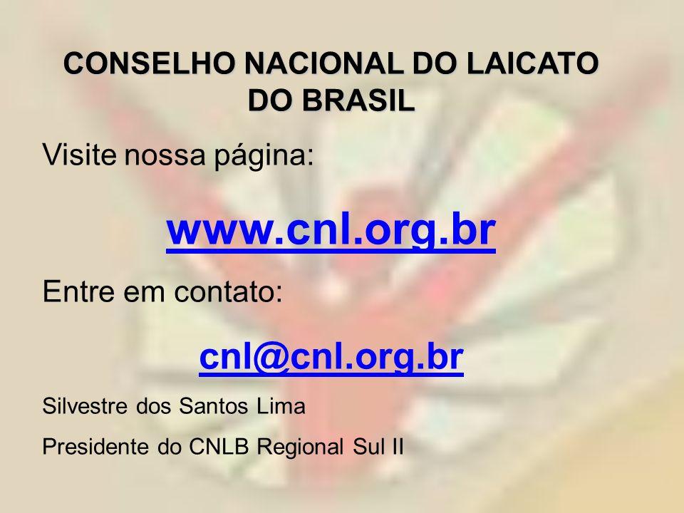 CONSELHO NACIONAL DO LAICATO DO BRASIL