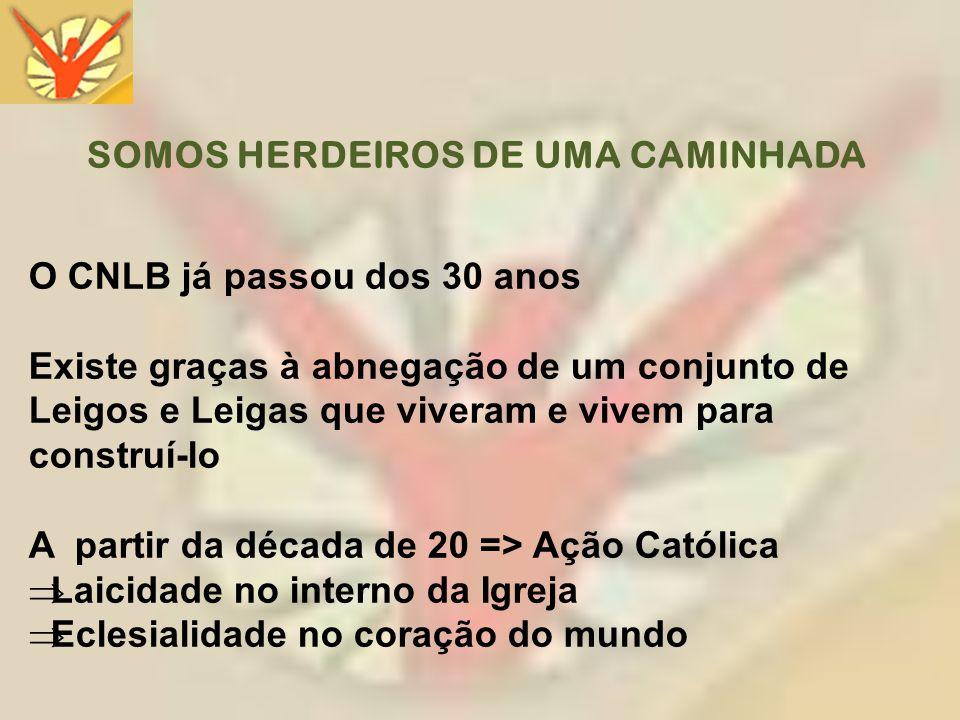 SOMOS HERDEIROS DE UMA CAMINHADA