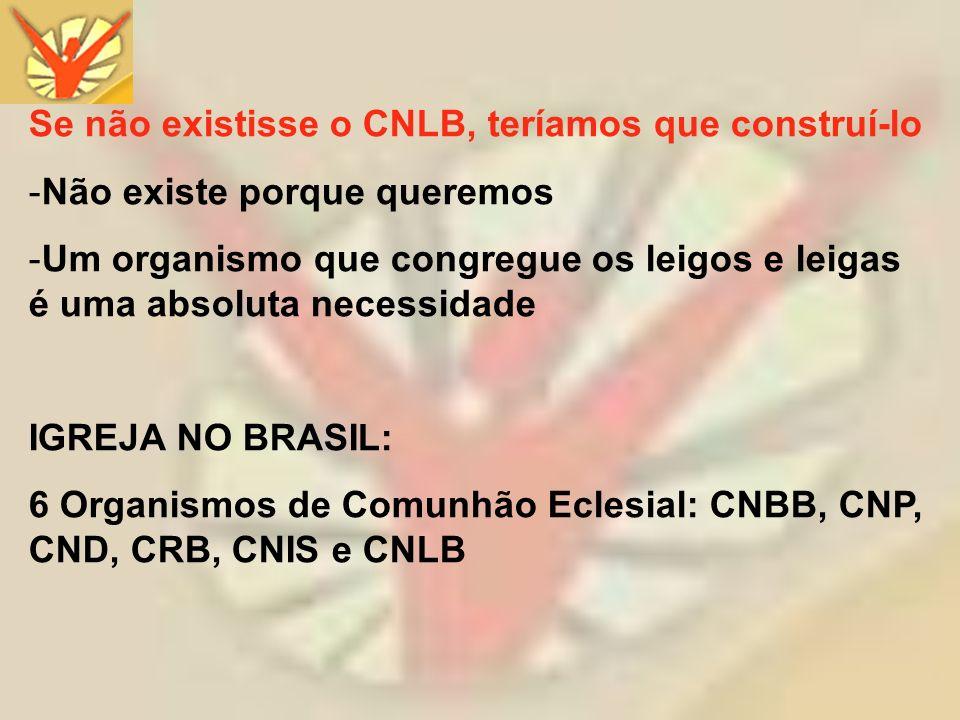 Se não existisse o CNLB, teríamos que construí-lo