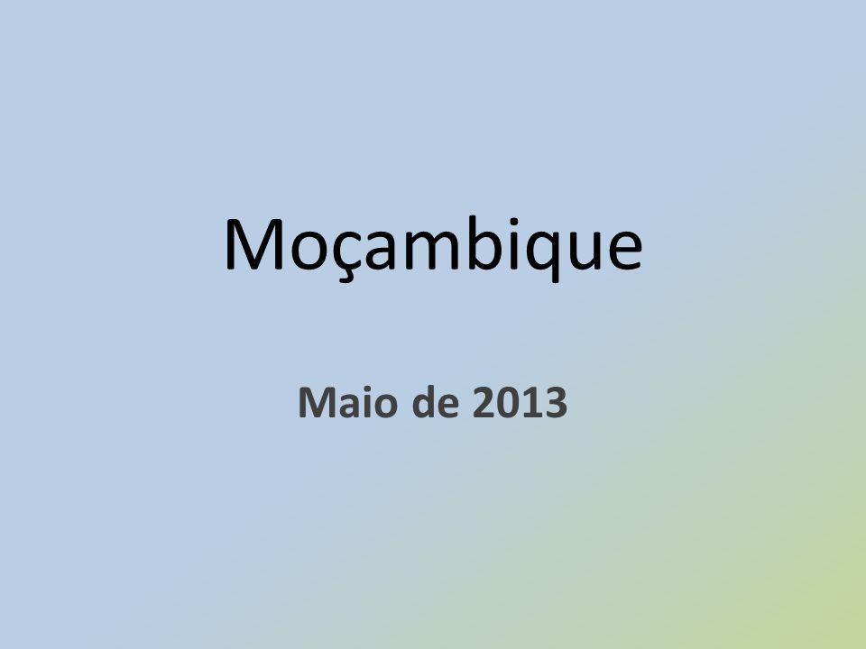 Moçambique Maio de 2013