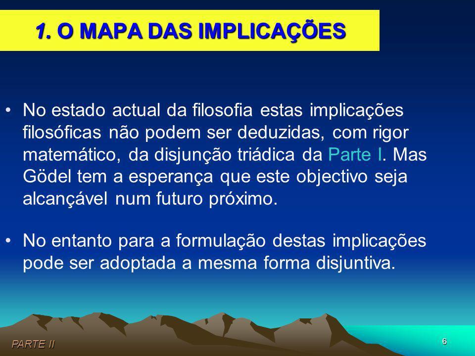 1. O MAPA DAS IMPLICAÇÕES