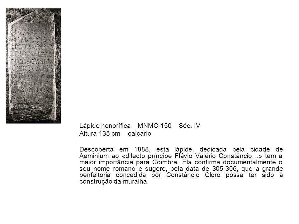 Lápide honorífica MNMC 150 Séc. IV