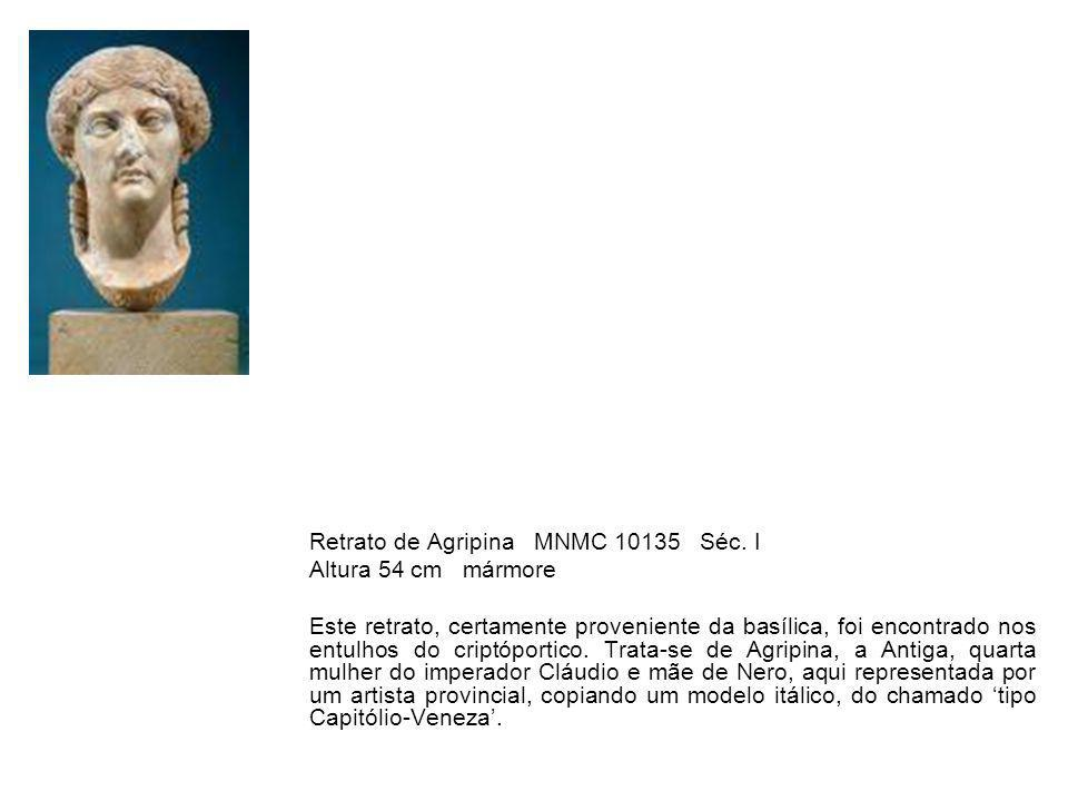 Retrato de Agripina MNMC 10135 Séc. I