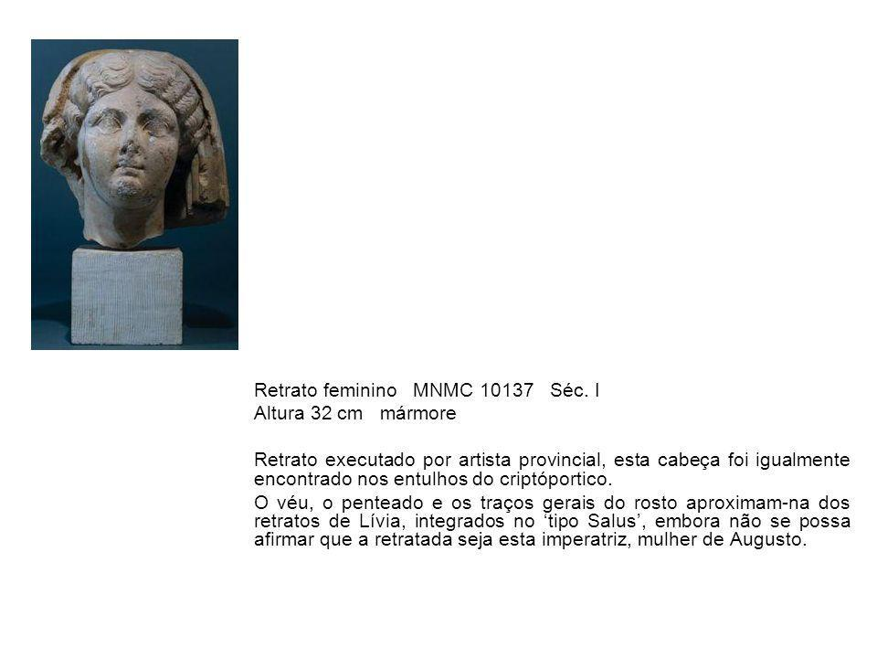 Retrato feminino MNMC 10137 Séc. I