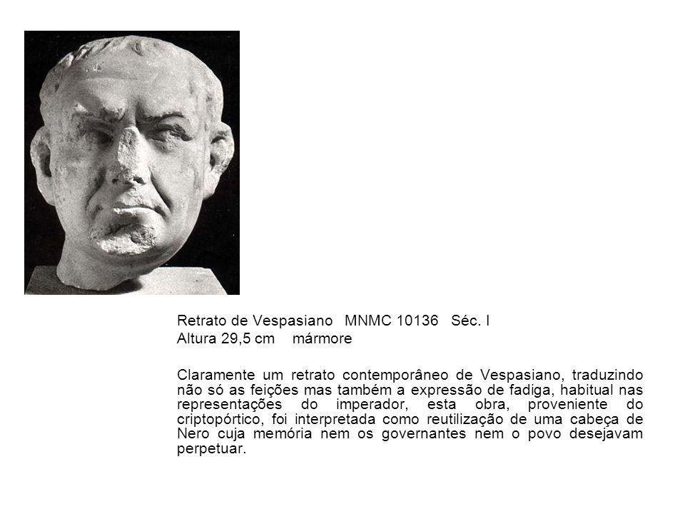 Retrato de Vespasiano MNMC 10136 Séc. I