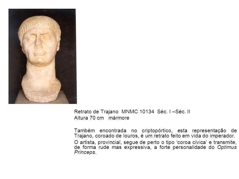 Retrato de Trajano MNMC 10134 Séc. I –Séc. II