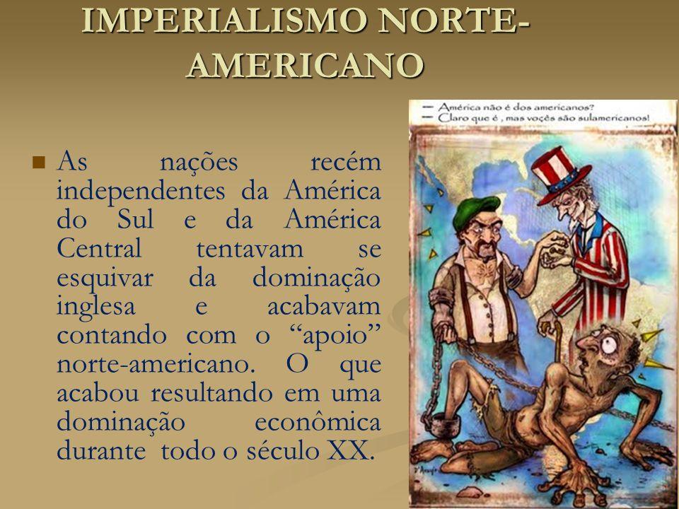 IMPERIALISMO NORTE-AMERICANO