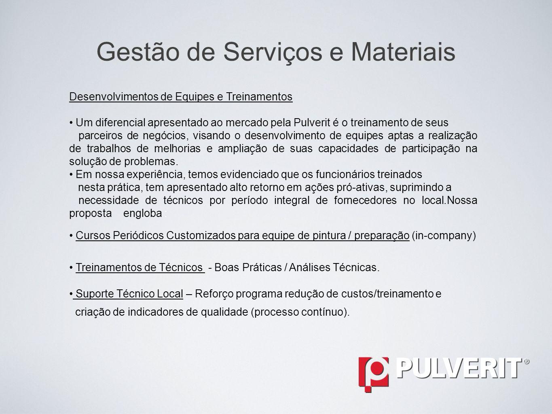 Gestão de Serviços e Materiais