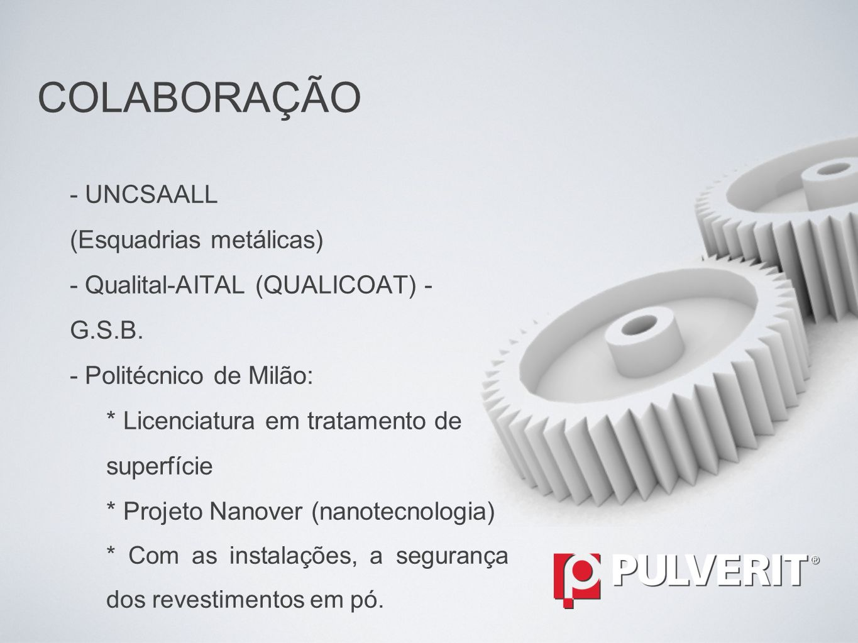 COLABORAÇÃO - UNCSAALL (Esquadrias metálicas)