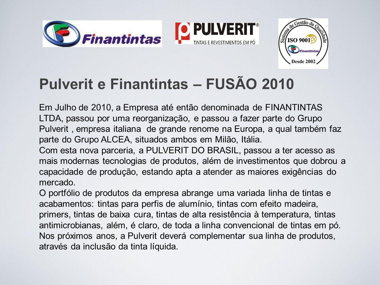 Pulverit e Finantintas – FUSÃO 2010
