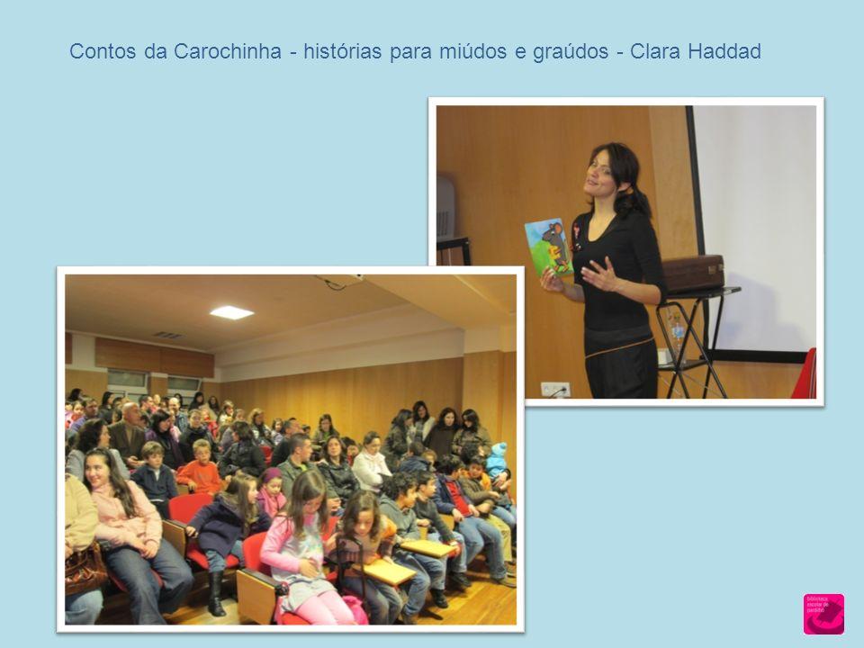 Contos da Carochinha - histórias para miúdos e graúdos - Clara Haddad