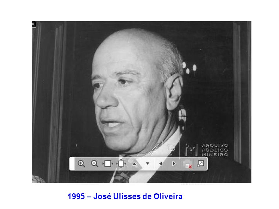 1995 – José Ulisses de Oliveira