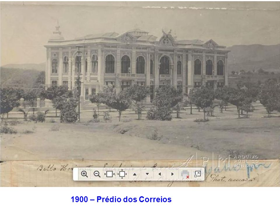 1900 – Prédio dos Correios