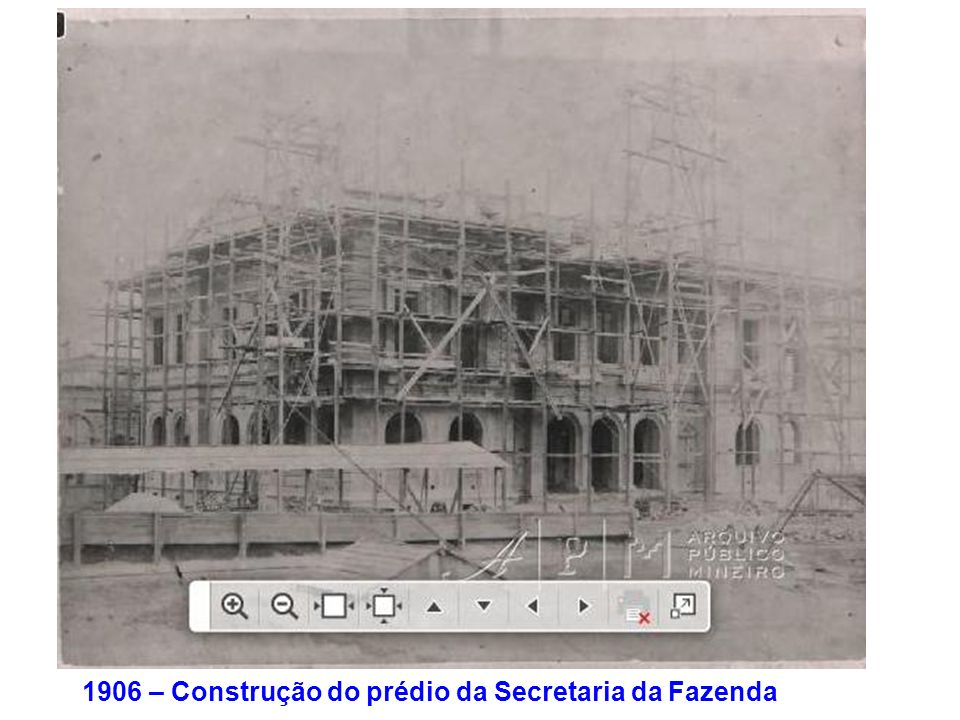 1906 – Construção do prédio da Secretaria da Fazenda