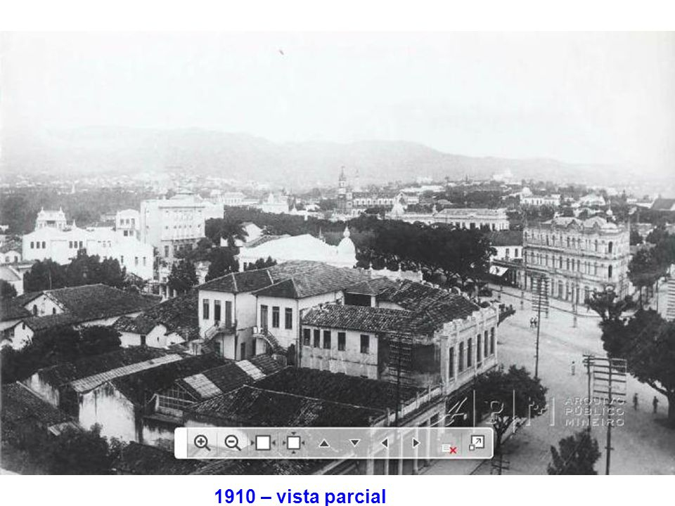 1910 – vista parcial