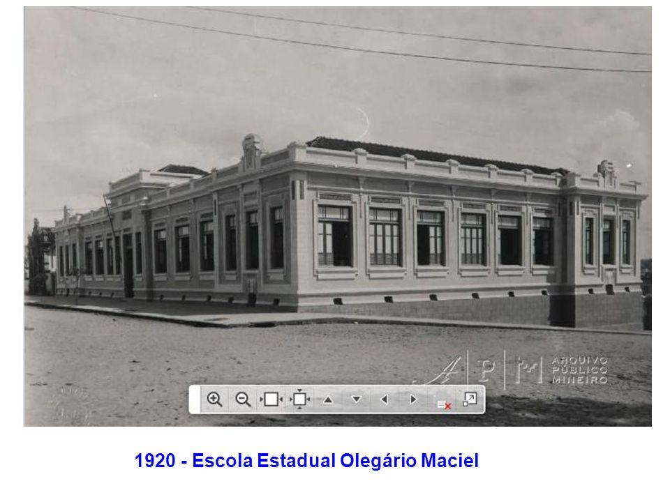 1920 - Escola Estadual Olegário Maciel