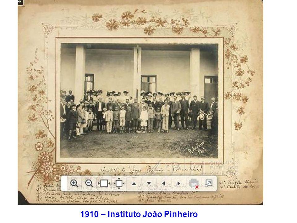 1910 – Instituto João Pinheiro