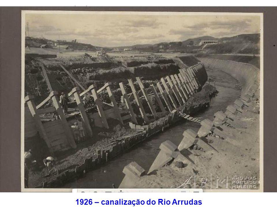 1926 – canalização do Rio Arrudas