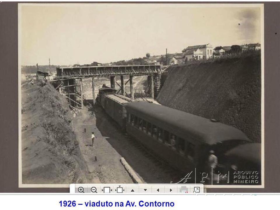 1926 – viaduto na Av. Contorno