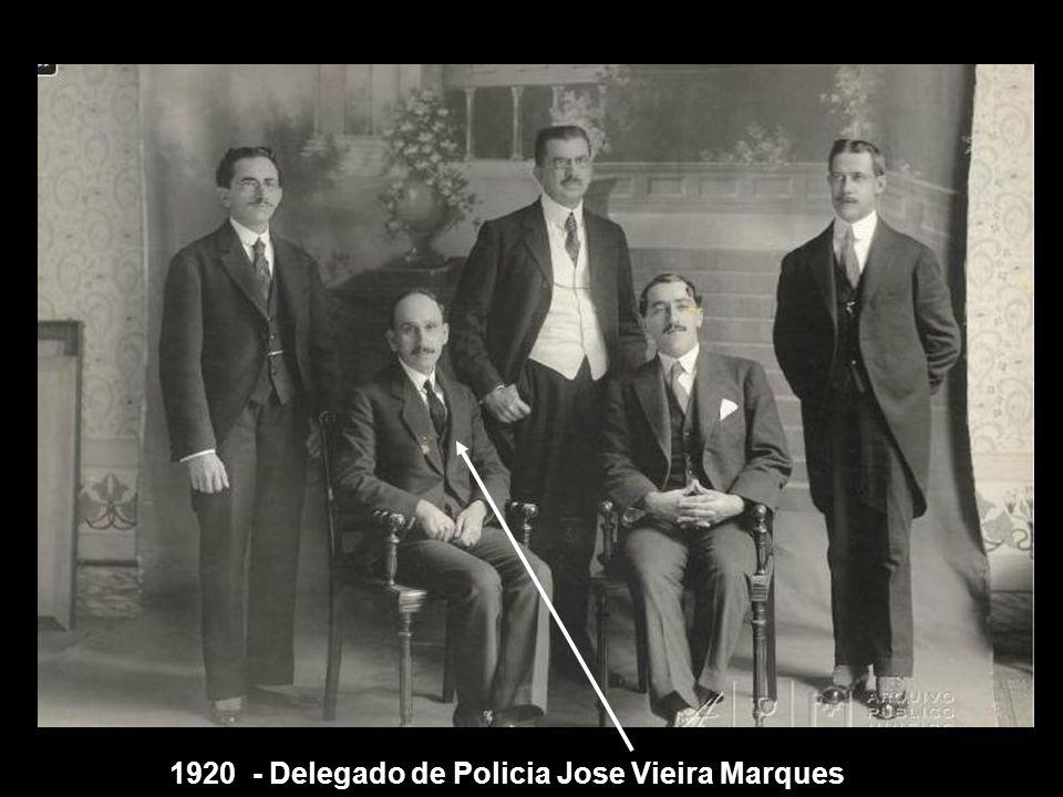 1920 - Delegado de Policia Jose Vieira Marques