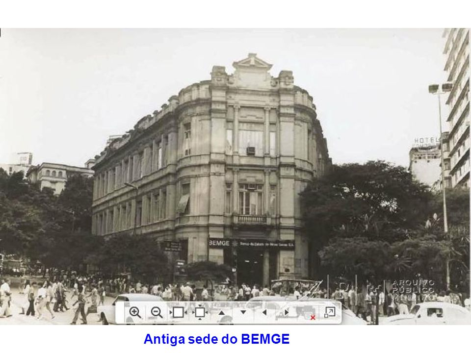 Antiga sede do BEMGE