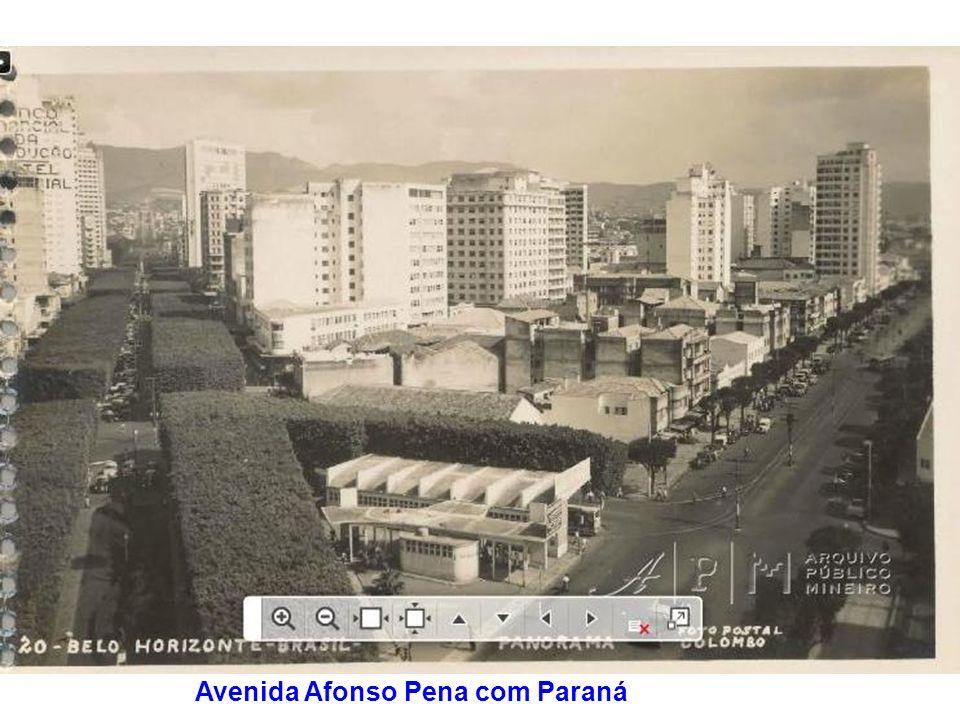 Avenida Afonso Pena com Paraná