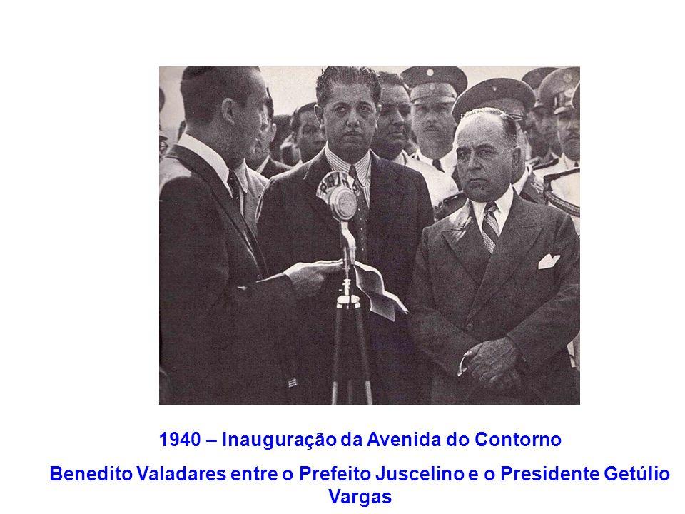 1940 – Inauguração da Avenida do Contorno