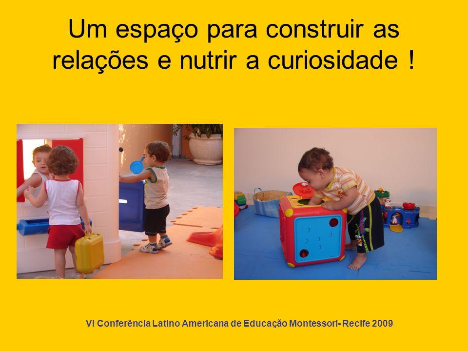 Um espaço para construir as relações e nutrir a curiosidade !