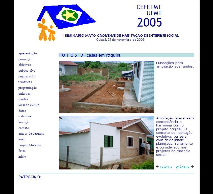 F O T O S  casas em Itiquira