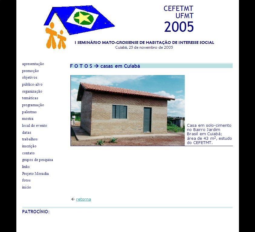 F O T O S  casas em Cuiabá PATROCÍNIO: apresentação promoção