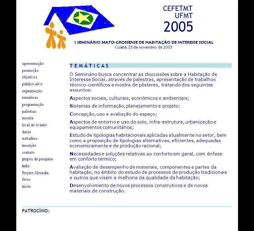 apresentação T E M Á T I C A S. promoção.
