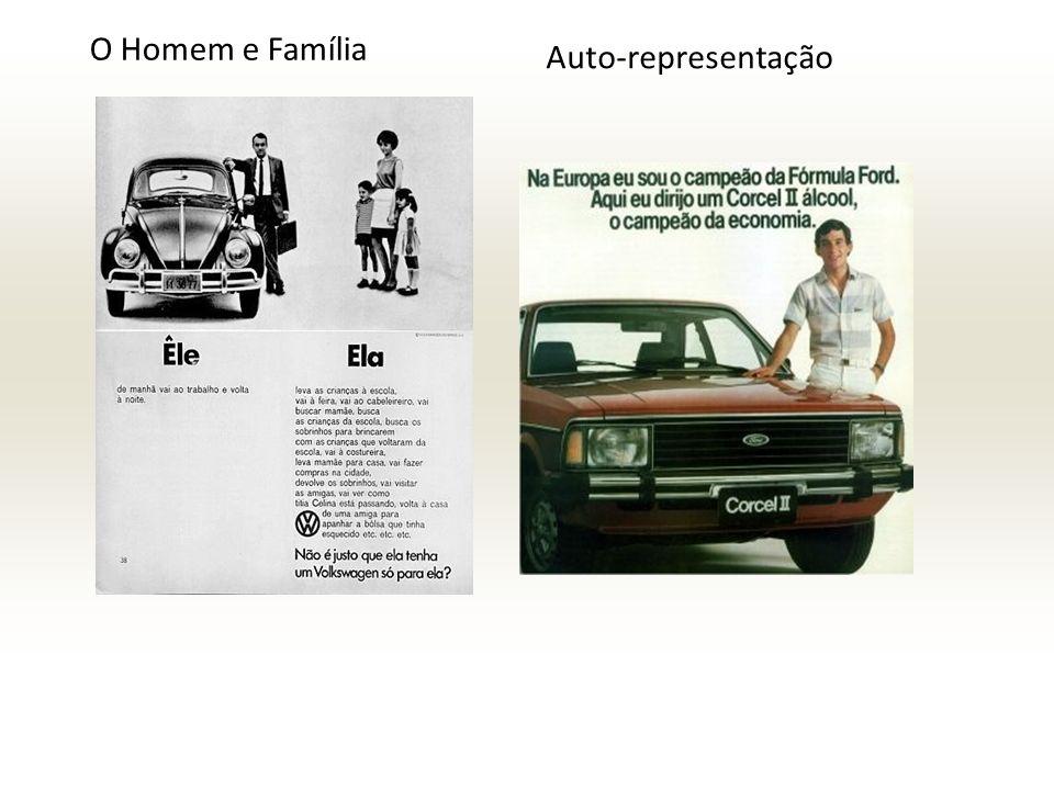 O Homem e Família Auto-representação