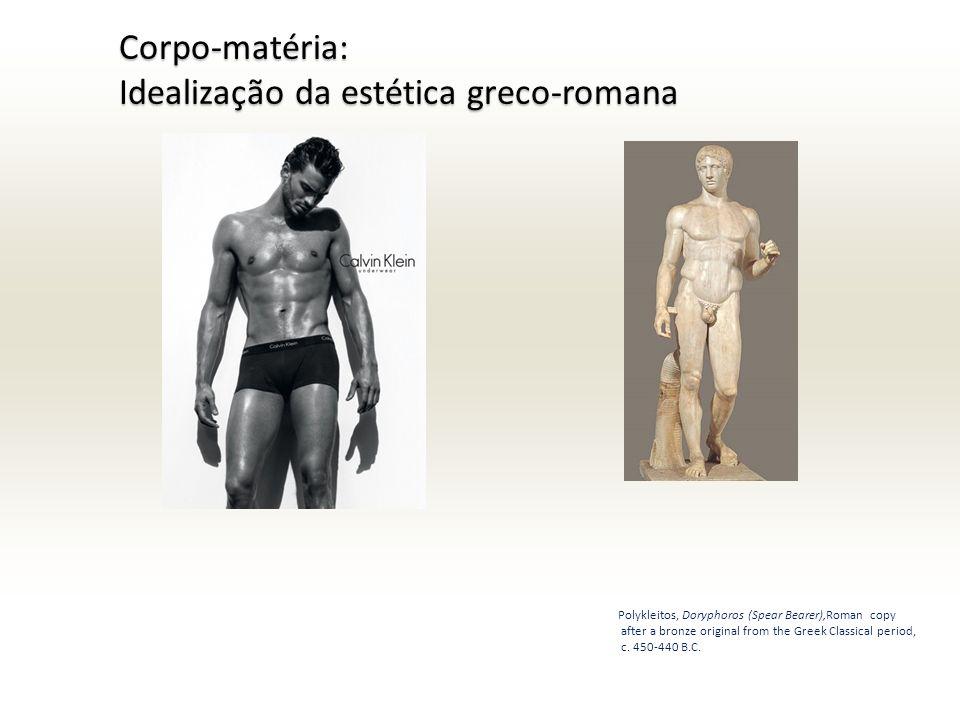 Idealização da estética greco-romana