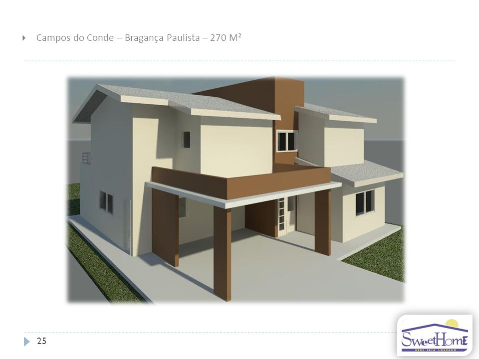 Campos do Conde – Bragança Paulista – 270 M²